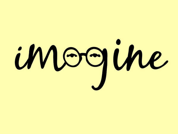Imagine - John Lennon  Tribute Poster