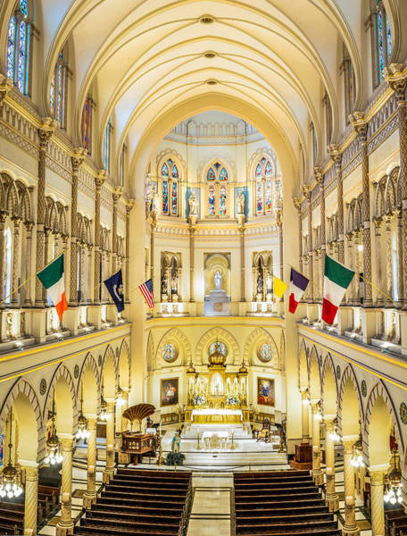 Immaculate Conception Jesuit Church - New Orleans Poster
