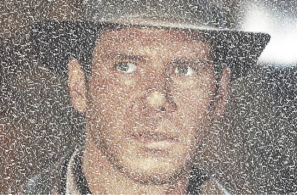Indiana Jones Quotes Mosaic Poster