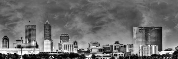 Indianapolis Indiana Skyline 0762 Poster