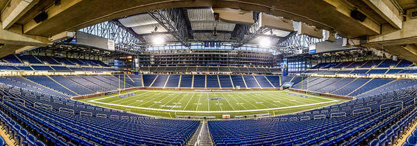 Inside Ford Field Poster