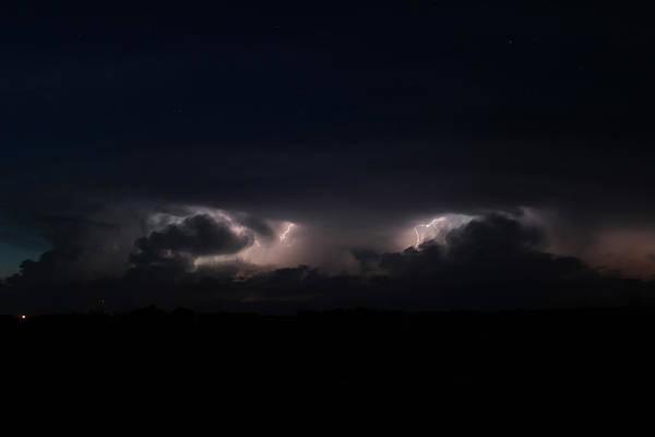 Intense Lightning Poster