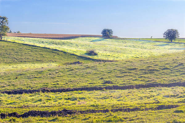 Iowa Farm Land #1 Poster