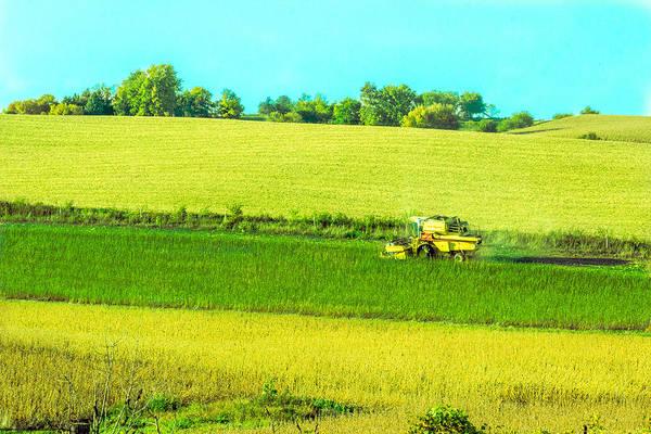 Iowa Farm Land #3 Poster