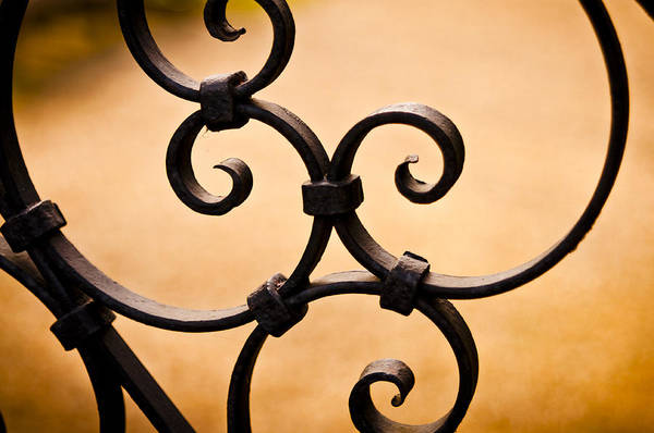 Ironwork Abstract Poster