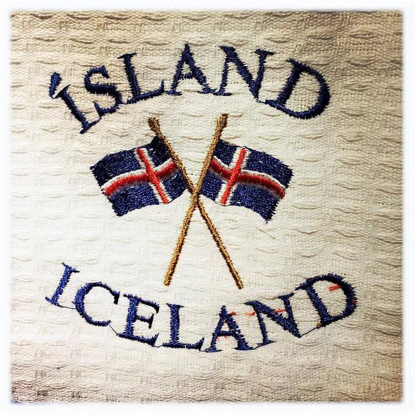 Island Iceland Poster