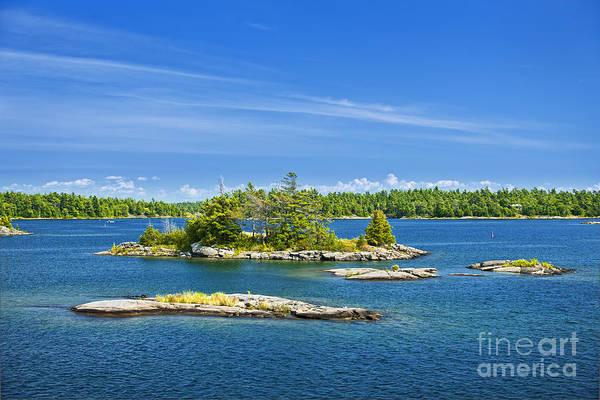 Islands In Georgian Bay Poster