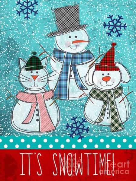 It's Snowtime Poster