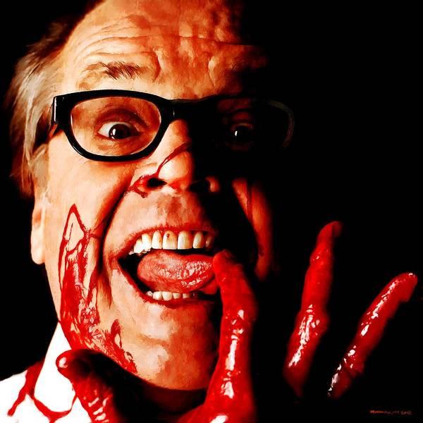 Jack Nicholson Painted From Photo Of Matthew Rolston Poster