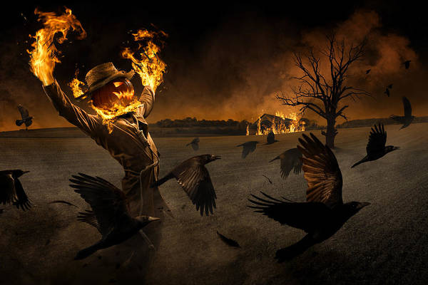 Jack-o\'-scarecrow Poster