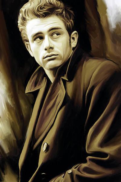 James Dean Artwork Poster