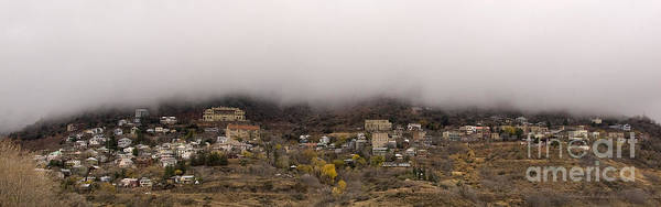 Jerome Arizona Beneath The Clouds Poster