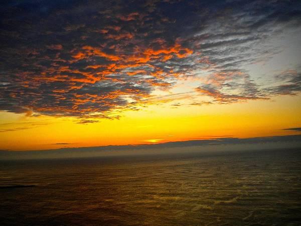 Jersey Morning Sky Poster