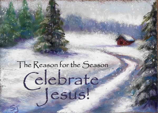 Jesus Christmas Poster