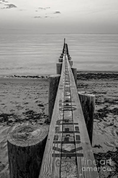 Jetty Seawall Westbrook Connecticut Poster