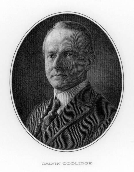 John Calvin Coolidge  30th Us President Poster