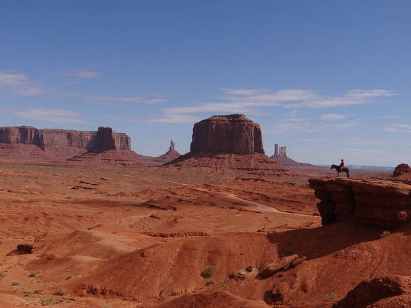John Ford's Point In Monument Valley Poster