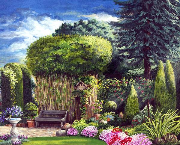 Joy's Garden Poster