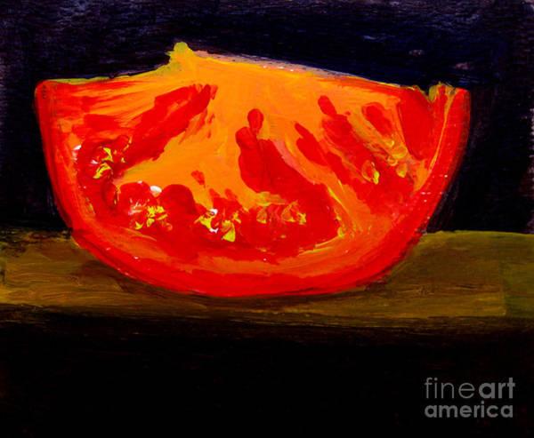 Juicy Tomato Modern Art Poster