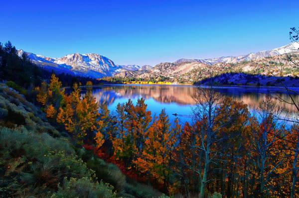 June Lake California Sunrise Poster