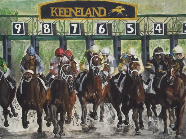 Keeneland Poster