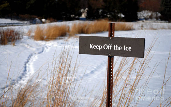 Keep Off The Ice Poster