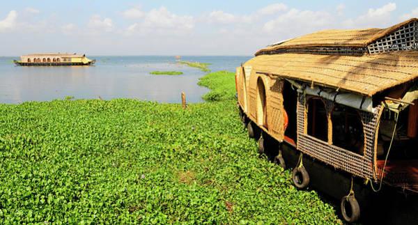 Kerala Houseboats On Kumarakom Lake Poster