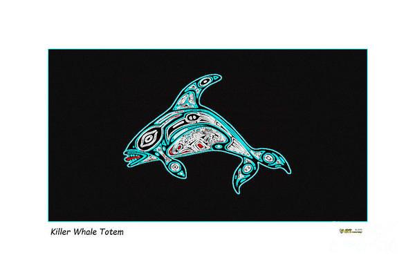 Killer Whale Totem Poster