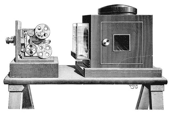 Kinetographe Projector, 1897 Poster
