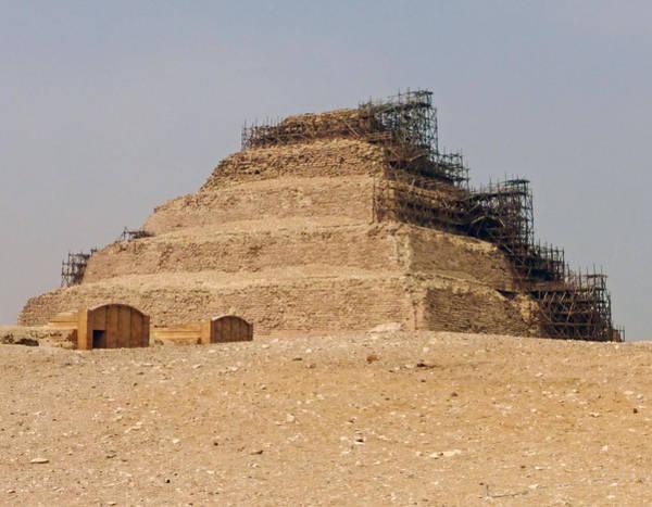 King Djoser The Great Of Saqqara Poster