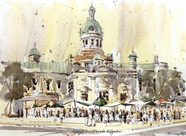 Kingston Market Square Poster