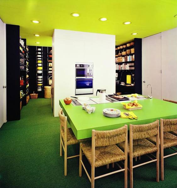 Kitchen Built By Formica Corporation Poster