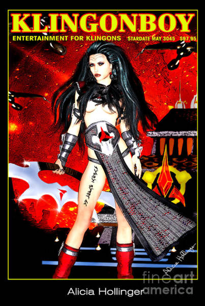 Klingonboy Magazine  Poster
