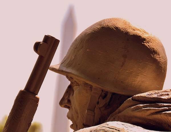 Korean War Memorial 2 Poster