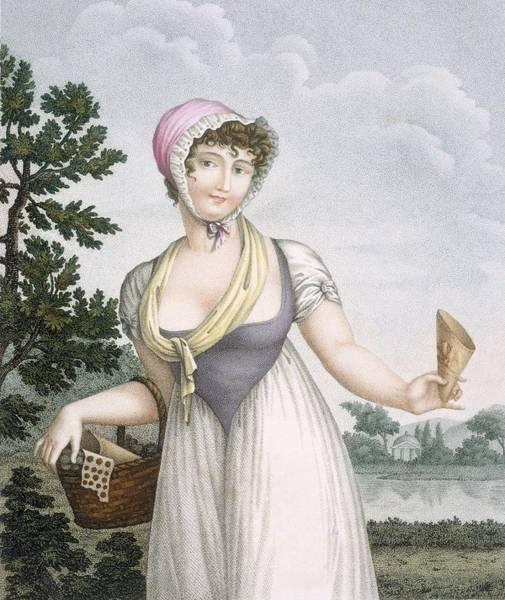 La Marchande De Plaisirs, Engraved Poster