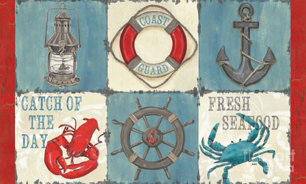 La Mer Collage Poster