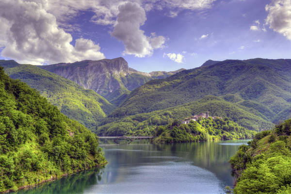 Lago Di Vagli Poster