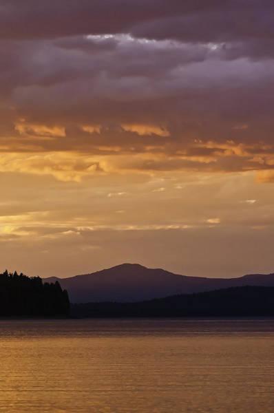 Lake Almanor Sunset Poster
