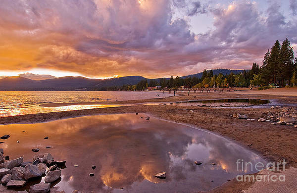 Poster featuring the photograph Lake Tahoe by Mae Wertz