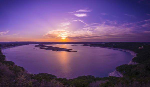 Lake Travis Sunset Poster