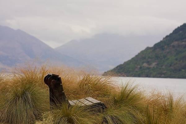 Lake Wakatipu Bench Poster
