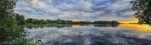 Lake Wausau Summer Sunset Panoramic Poster