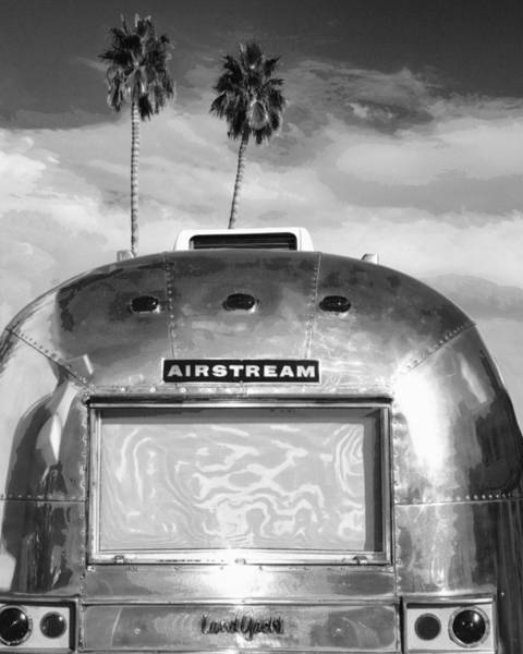 Land Yacht Bw Palm Springs Poster