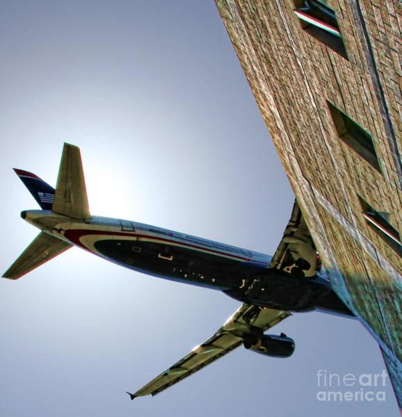 Landing By Diana Sainz Poster