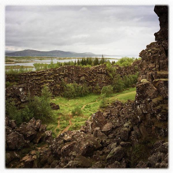 Landscape In Iceland Pingvellir Poster