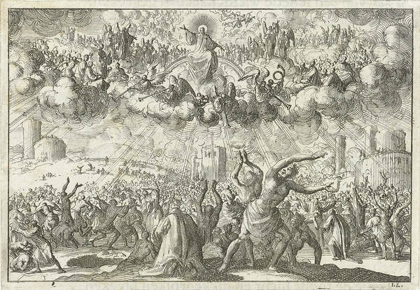 Last Judgment, Jan Luyken, David Ruarus Poster