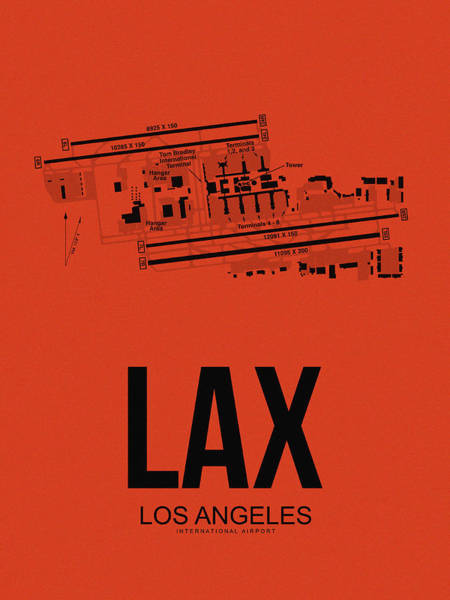 Lax Los Angeles Airport Poster 4 Poster