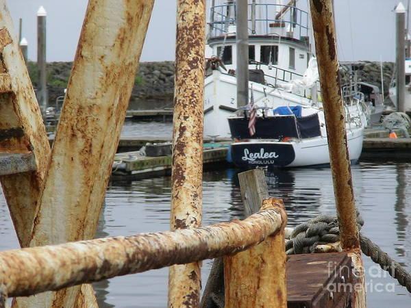 Lealea In Harbor Poster