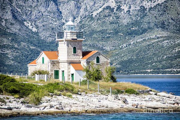 Sucuraj Lighthouse In Croatia 1 Poster