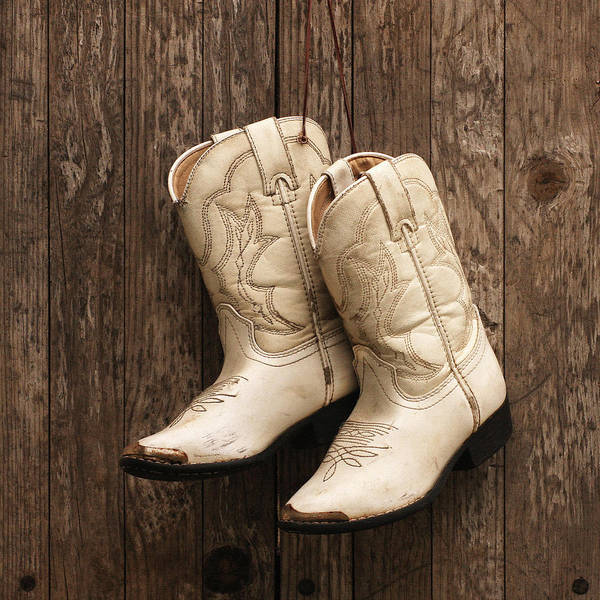 Lil' Cowboy Boots Poster
